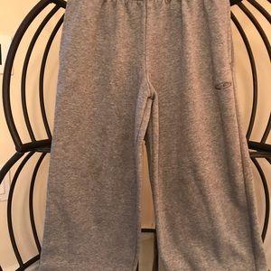 Boys champion gray sweat pants size L 12-14